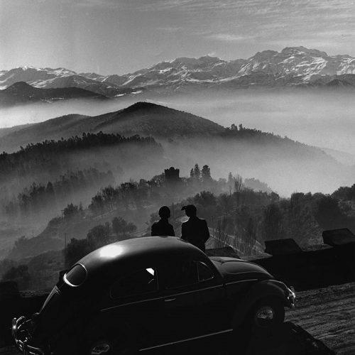 Cerro San Cristobal, Chile 1955