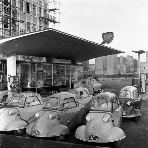 Messerschmitt-Kabinenroller, Hamburg 1955